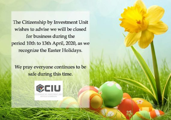Notice of closure - Easter weekend 2020