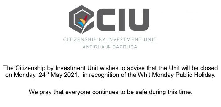 White Monday Closure 2021