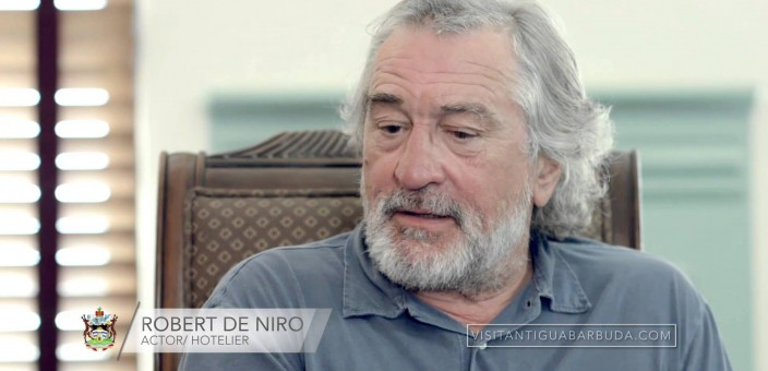 Robert De Niro on Investing in Antigua and Barbuda